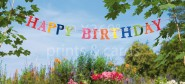 XL-Postkarte Happy Birthday