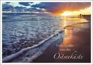 Postkarte Viele Grüße von der Ostseeküste