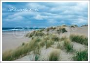 Postkarte Stürmische Küste