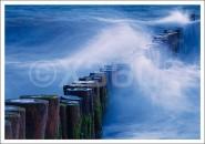 Postkarte Wellenbrecher
