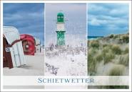 Postkarte Schietwetter