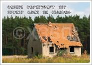 Postkarte Abbruchhaus
