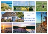 Postkarte Viele Grüße aus Meckpom