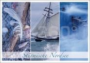 Postkarte Stürmische Nordsee