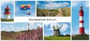 XL-Postkarte Amrum Impressionen