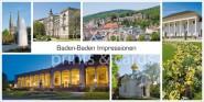 XL-Postkarte Baden-Baden Impressionen