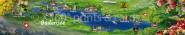 Panoramapostkarte Bodensee