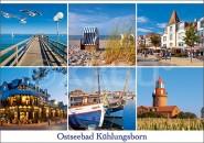 Postkarte Mischkarte