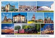 Postkarte Kühlungsborn und Umgebung