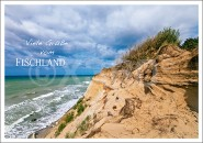 Postkarte Viele Grüße vom Fischland