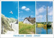 Postkarte FDZ 3 Motive
