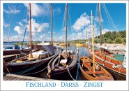 Postkarte Fischland-Darss-Zingst (Boote)