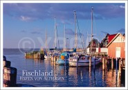 Postkarte Hafen von Althagen