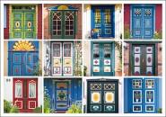 Postkarte Türen