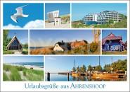 Postkarte Urlaubsgrüße aus Ahrenshoop