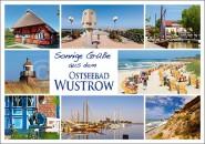 Postkarte Ostseebad Wustrow