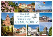 Postkarte Seeheilbad Graal-Müritz