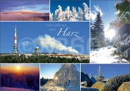 Postkarte Viele Grüße aus dem Harz