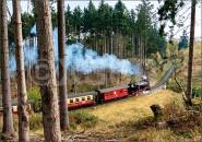Postkarte Brockenbahn