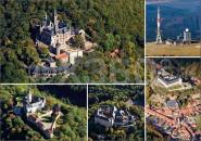 Postkarte Harz aus der Luft