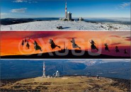 Postkarte Brockenpanoramen