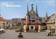 Postkarte Gruß aus Wernigerode