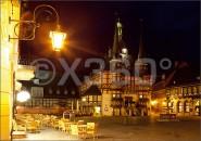 Postkarte Wernigerode Marktplatz