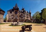 Postkarte Schlossplatz Wernigerode