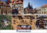Postkarte Wernigerode Mischkarte