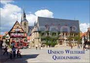 Postkarte Quedlinburg Unesco Welterbe