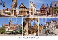 Postkarte Quedlinburg