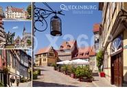 Postkarte Quedlinburg Welterbestadt