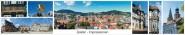 Panoramapostkarte Goslar Impressionen