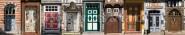 Panoramapostkarte Harzer Türen