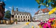 XL-Postkarte Goslar Marktplatz