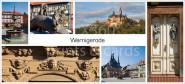 XL-Postkarte Wernigerode Impressionen