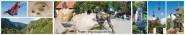 Panoramapostkarte Thale Impressionen