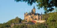 XL-Postkarte Wernigerode Schloss