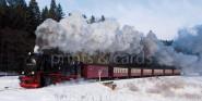 XL-Postkarte Schmalspurbahn