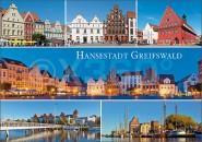 Postkarte Hansestadt Greifswald
