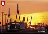 Postkarte Köhlbrandbrücke