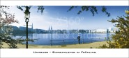 XL-Postkarte Binnenalster