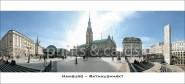 XL-Postkarte HH Rathausmarkt