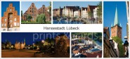 XL-Postkarte Lübeck Impressionen