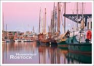 Postkarte Hansestadt Rostock Hafen