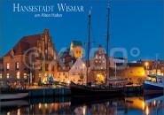Postkarte Hansestadt Wismar am Alten Hafen
