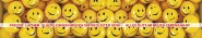 Panoramapostkarte Alles Gute Smileys