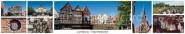 Panoramapostkarte Lüneburg Impressionen