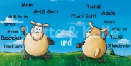 XL-Postkarte Lotte & Kalle Moin Tschüß