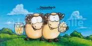 XL-Postkarte Lotte & Kalle Doppelbock